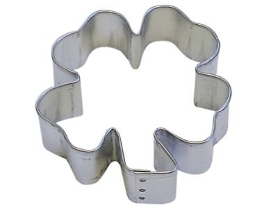 4 Leaf Clover 3'' Cookie Cutter NEW! St Patrick's Green Day (Green Cookies)