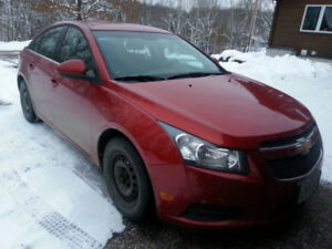 Chevy Cruze 2011 Red