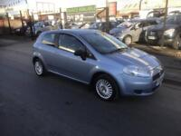 2008/08 Fiat Grande Punto 1.2 Active 3dr h/b ONLY 63249 Miles Economical
