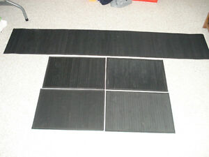 4 Bamboo Placemats and Table Runner