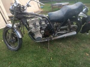 Parting out 1981 Kawasaki KZ750