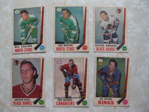 Carte hockey O-Pee-Chee 1969-70
