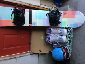 Snowboard equipment & roller skates