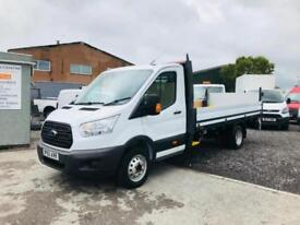 FORD TRANSIT 350 2.2 125ps LWB 13FT ONE STOP DROPSIDE WITH TAIL LIFT,41K, 15/65