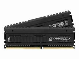 Crucial Ballistix Elite 16GB DDR4-2666 Memory Kit