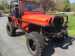 Jeep CJ5 - Trail/Rock Buggy