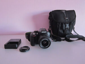 Nikon D3300 DSLR 24.2 MP HD 1080p Camera w/ 18-55mm Lens