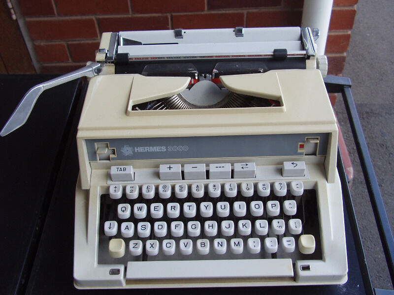 Hermes 3000 Portable Typewriter
