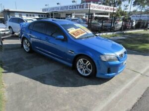 2010 Holden Commodore VE MY10 SV6 Blue 6 Speed Manual Sedan New Lambton Newcastle Area Preview