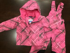 Girls Columbia Winter Coat & Pants 3T Regina Regina Area image 1