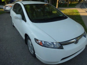 HONDA CIVIC HYBRID BAS MILLAGE