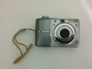 Canon PowerShot A1100 IS 12.1 MP - Gray - 4X Optical Zoom-