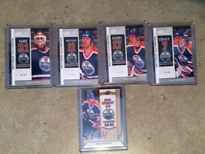 13-14 Upper Deck Oilers Collection Hockey Cards