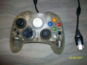 Original xbox controller clear