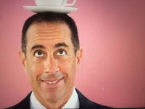 JERRY SEINFELD Section: 102 Row: 1-20 SEAT 1 & 2
