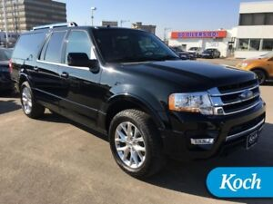 2016 Ford Expedition Max Limited  8-Pass, BLIS, Self Load Level,