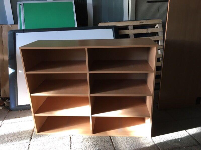 25 PigeonHole Storag Unit Double KubbyHole WB-Beech