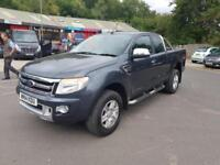 Ford Ranger Limited 4x4 Space/super Cab Tdci DIESEL MANUAL 2014/14