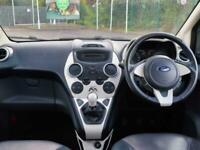 2016 Ford KA Ford Ka 1.2 Titanium 3dr Leather Pan Roof Hatchback Petrol Manual