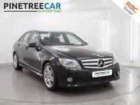2009 MERCEDES BENZ C CLASS 2.1 C220 CDI BlueEFFICIENCY Sport 4dr Auto