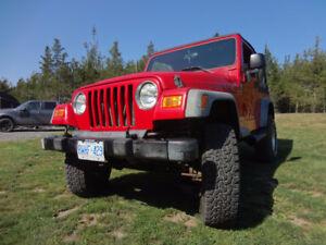 2005 Jeep TJ Coupe (2 door)