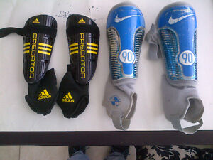 NIKE ADIDAS ELETTO SOCCER SHINGUARDS SHINPADS SHIN GUARDS MED/LG
