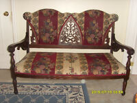 GEORGIAN SETTEE / SOFA - $350