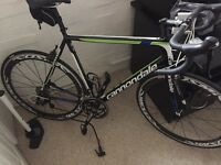 Cannondale road bike as new