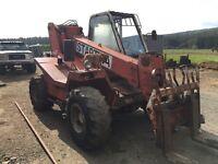 Manitou telehandler forklift tractor jcb