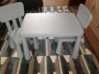 Children's IKEA Mammut Table & Chairs - brand new!
