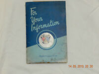 1951 Ford Owners Manual