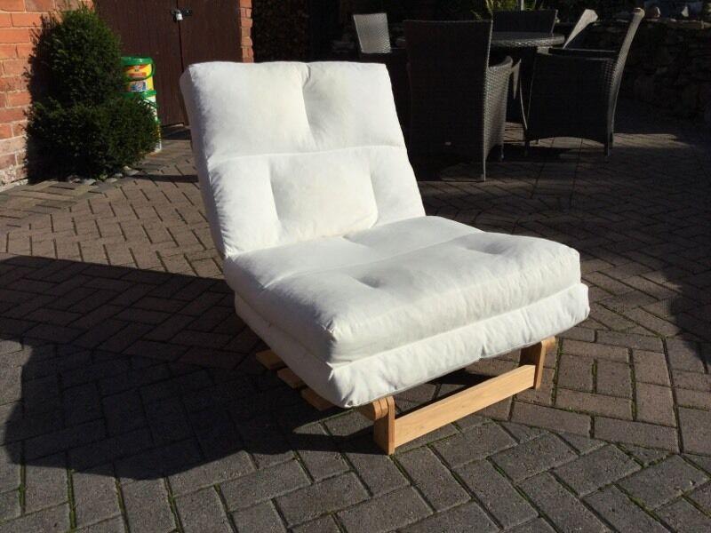 Ikea Munkarp Single Bed Chair Futon In Cream