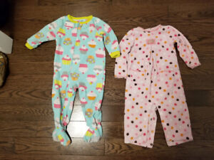 Baby Sleepers 18 months $10