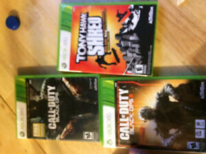 Xbox games and skate board for tony hawk game