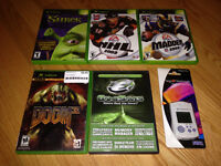 Cheap Xbox and Sega Dreamcast GAMES and ACCESSORIES
