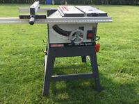 Table saw/compound Mitre saw