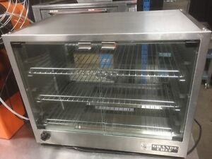 Like New Grande Chef Heated S/S Patty/Pie Warmer
