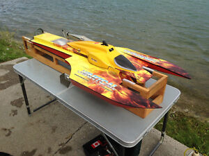 R/C Boat, Insane Backlash Sport Hydro