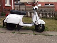 Vespa Lml star lite 125cc scooter, 66 reg, may deliver