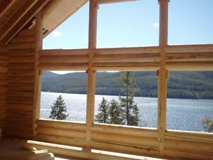 Dream Vacation Property - New Montana Log Home with Views