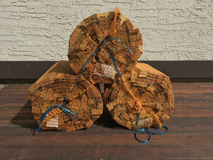 Beat The Gas Station! Thick Cedar Kindling Firewood Dry & Ready