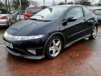 2007 57 HONDA CIVIC TYPE-S GT1.8 I-VTEC PETROL 3DR 139 BHP-GEARBOX WHINING
