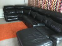 Harvey leather sofa crner
