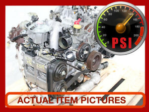 JDM SUBARU WRX EJ20 TURBO DOHC ENGINE 2002-2005.