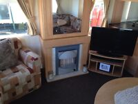 Crimdon dene static caravan hire, park resorts, 6 berth, holiday home