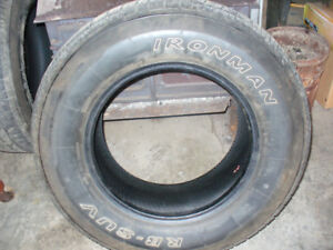 2- Used 265/70R17 Tires 100$ for the pair