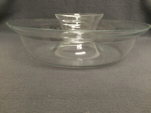 Collectible Antique Large Glass Party Chip & Dip Bowls London Ontario image 1