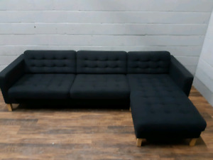 Free delivery: Grey Karlstad Sectional