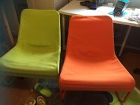 IKEA slouch chairs