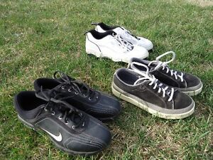 3 Pair of Smaller Size Golf shoes